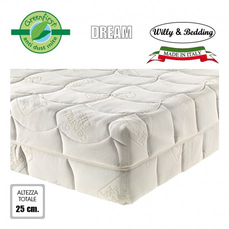 Materasso matrimoniale memory-foam DREAM, anallergico, Bio-ceramic